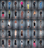 Different clothes stock images