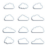 Different clouds Stock Photography