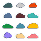 Different clouds Royalty Free Stock Image