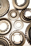 Different Cogwheels Stock Photos