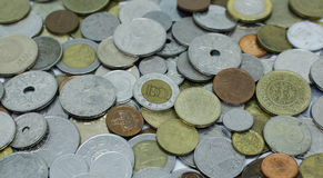 Different coins Stock Photos