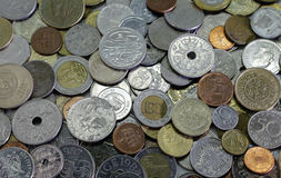 Different coins Royalty Free Stock Photography