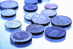 Different coins Royalty Free Stock Images