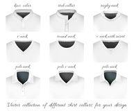 Different collars for your design Stock Photo
