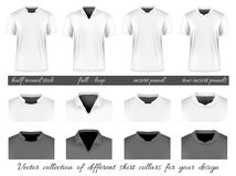 Different collars for your design Royalty Free Stock Images