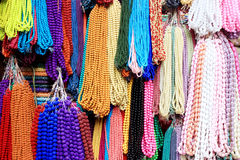 Different color beads background. Different colors of beads which I seen on roadside Royalty Free Stock Photography