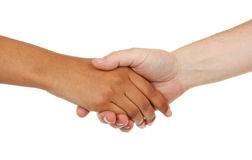Different color hands Royalty Free Stock Photography