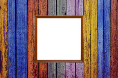 Different color old wooden plank texture Royalty Free Stock Photos