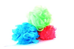 Different Colored Loofahs Royalty Free Stock Image