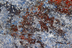 The different colored minerals closeup. The different colored minerals close-up stock images