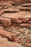 Different Colored Rock Layers Royalty Free Stock Photo