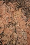 Different Colored Rock Layers Stock Photo
