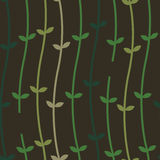 Plant Vines on a Wall_Seamless Pattern Royalty Free Stock Image
