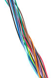 Different colored wires Stock Photo