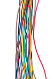 Different colored wires Stock Photos