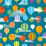 Different colorful air balloons Stock Images
