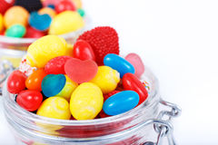 Different colorful candy and chewing gum Royalty Free Stock Image
