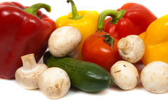 Different colorful fresh vegetables Royalty Free Stock Photo