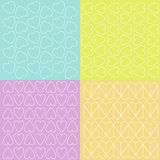 Different colorful patterns Stock Photo