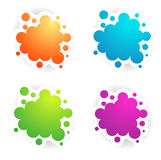 Different Colors Copyspace Designs Stock Photography