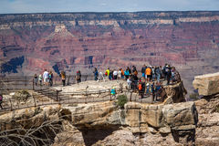 Different colors in the Grand Canyon Valley, Arizona Royalty Free Stock Photography