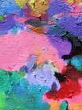 Colorful painted surface texture Royalty Free Stock Photos