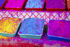 Different colors for sale in India Stock Image
