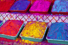Different colors for sale in India Royalty Free Stock Photography