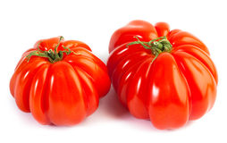 Different colors tomatos, Solanum lycopersicum Royalty Free Stock Photos