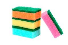 Different colours bast Stock Image