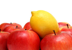Different concepts with fruits Stock Photography