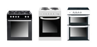Different cooker ovens Stock Images