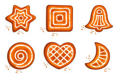 Different cookie Royalty Free Stock Images