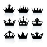 Different crowns Stock Photography