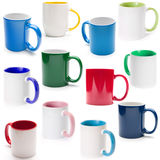 Different Cups Royalty Free Stock Image