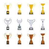Different cups set. Stock Photo