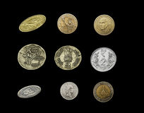 Different Currency Coins Stock Images