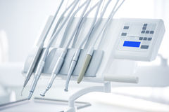 Different dental instruments  Royalty Free Stock Photo