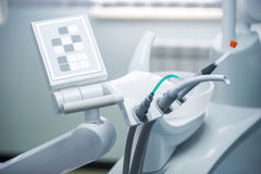 Different dental instruments  Royalty Free Stock Image
