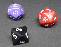 different dice game stock photos