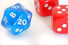 Different dices Stock Images
