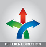 Different direction Stock Images