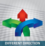 Different direction Royalty Free Stock Photos