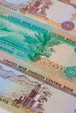 Different Dirham  banknotes from Emirates Stock Photos