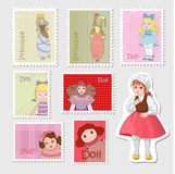 Different dolls Royalty Free Stock Photo