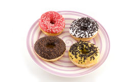 Different doughnuts Royalty Free Stock Images