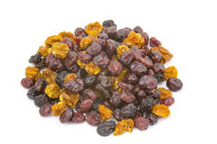 Different dried berries Stock Images