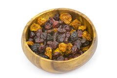 Different dried berries Royalty Free Stock Photography