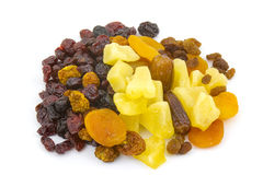 Different dried fruits Royalty Free Stock Photo