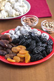 Different dried fruits Stock Photos